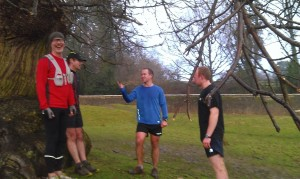 All done after 800m repetitions in the park on Sat morning.